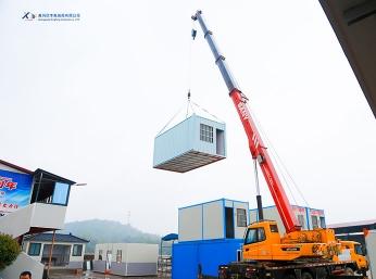 黄州住人集装箱吊运